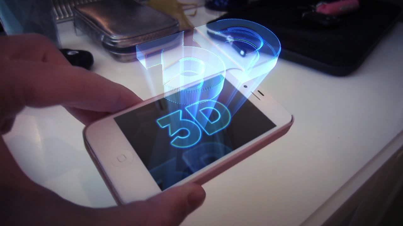 Hologramme sur mobile : Et si c'était pour demain ?