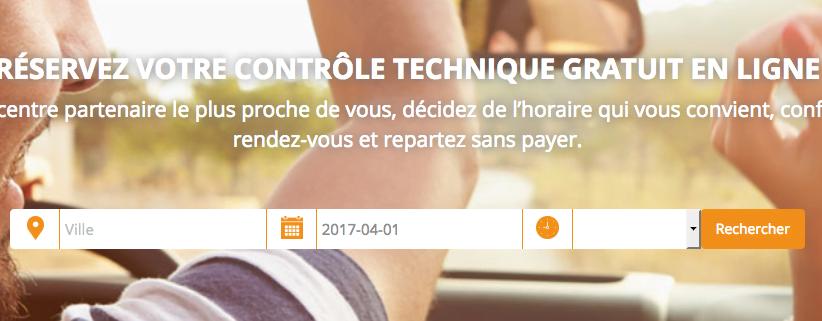 #Startup – Votre contrôle technique gratuitement : C'est possible !