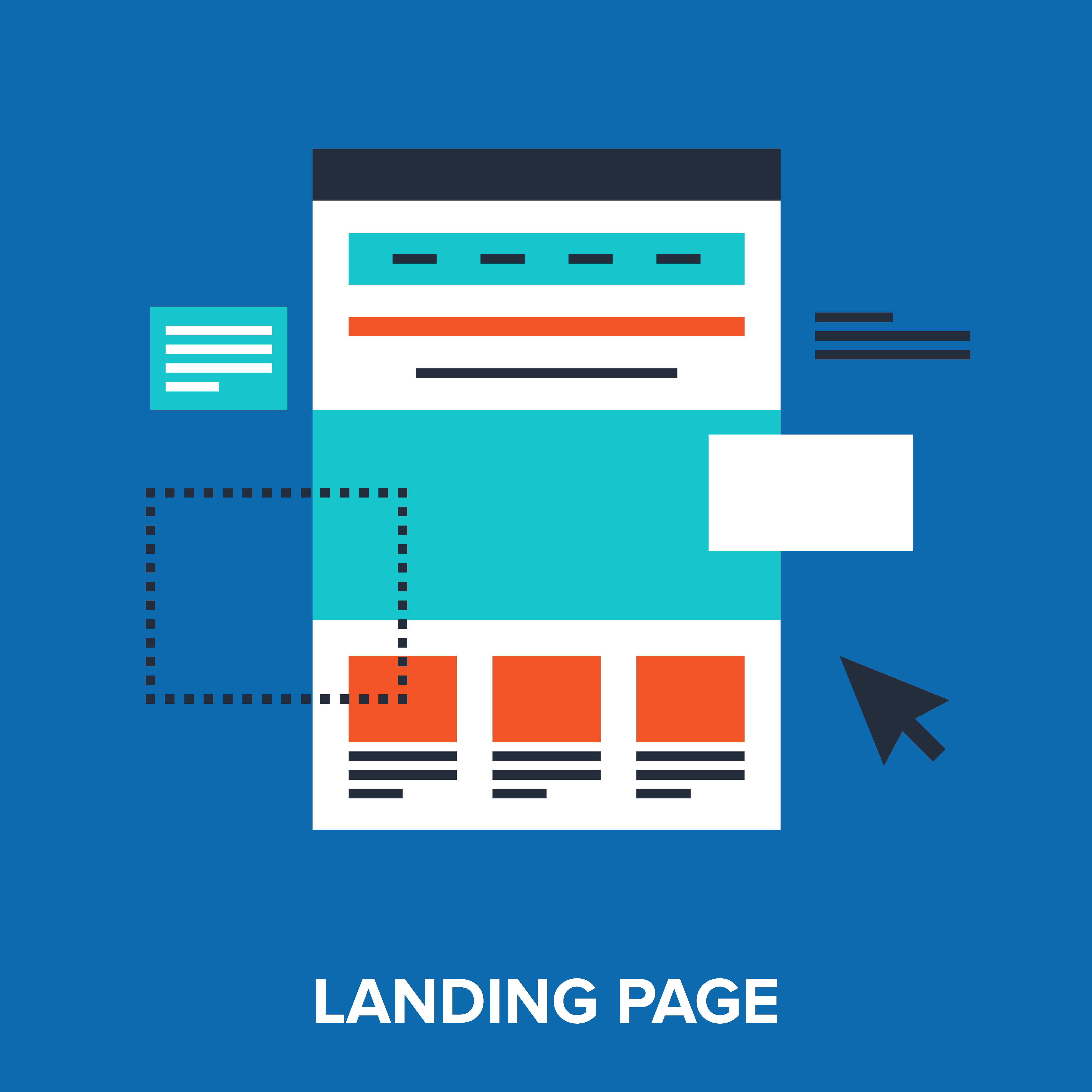 Les landing pages : une solution pour accomplir vos objectifs